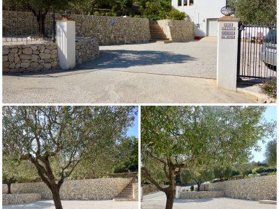 parking entrance parking entrance