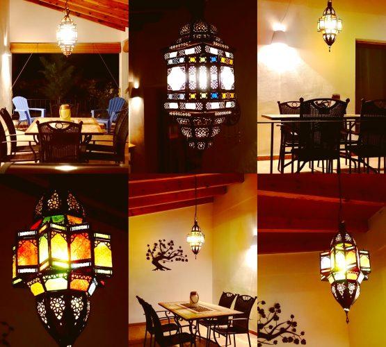 lámparas terrazas luces terrazas